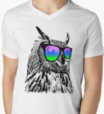 Cool Owl Men's V-Neck T-Shirt