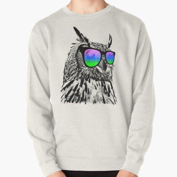Cool Owl Pullover Sweatshirt