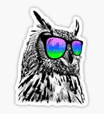 Cool Owl Sticker