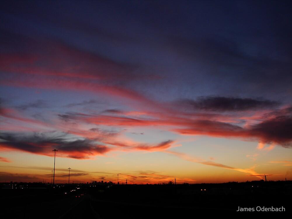 Edmonton Sunset by James Odenbach
