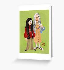 Candace and Toni Greeting Card