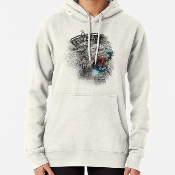 King Lion Pullover Hoodie
