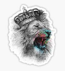 King Lion Sticker