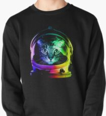 Astronaut Cat Pullover