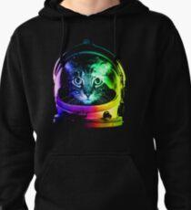 Astronaut Cat Pullover Hoodie