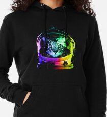 Astronaut Cat Lightweight Hoodie