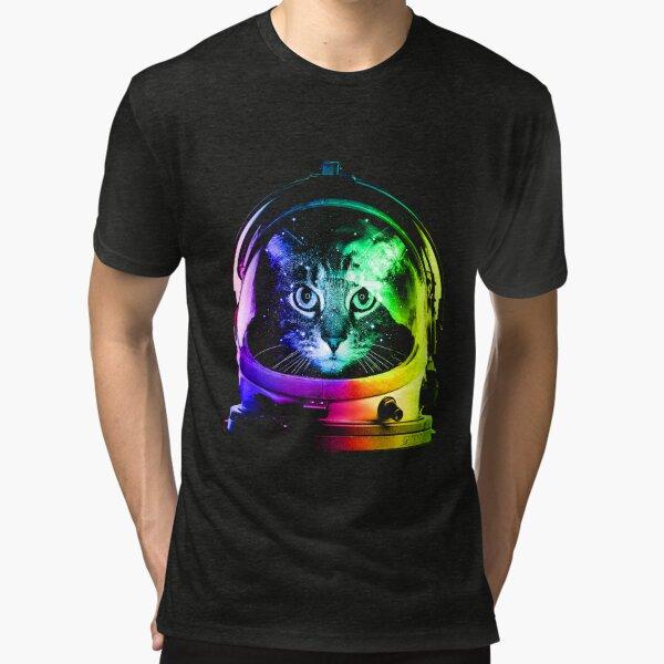 Astronaut Cat Vintage T-Shirt
