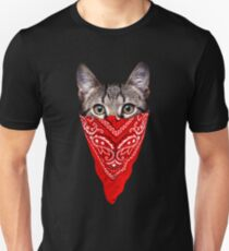 Gangster Cat Unisex T-Shirt