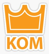 KOM Sticker