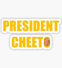 President Cheeto Sticker