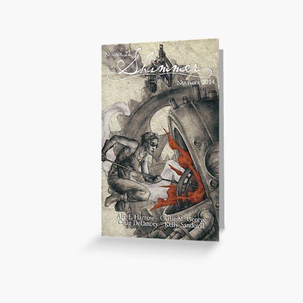 A Whisper in the Weld, Sandro Castelli art Greeting Card