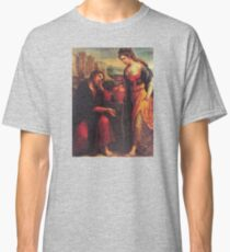 Jesus Christ And The Woman Of Samaria - Religious Christian Catholic Gifts Classic T-Shirt