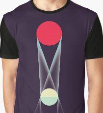 Lunar Eclipse diagram Graphic T-Shirt