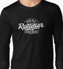 Mesa Boogie Dual Rectifier Solo Head White Long Sleeve T-Shirt