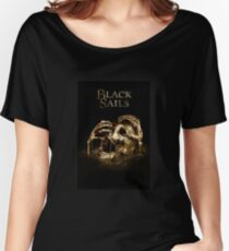 Black Sails Gold Women's Relaxed Fit T-Shirt