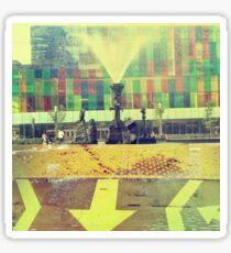 yellow city Sticker