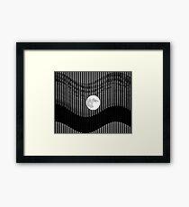Moonlight shades Framed Print