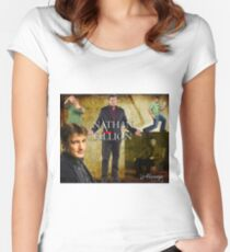 Nathan Fillion Women's Fitted Scoop T-Shirt