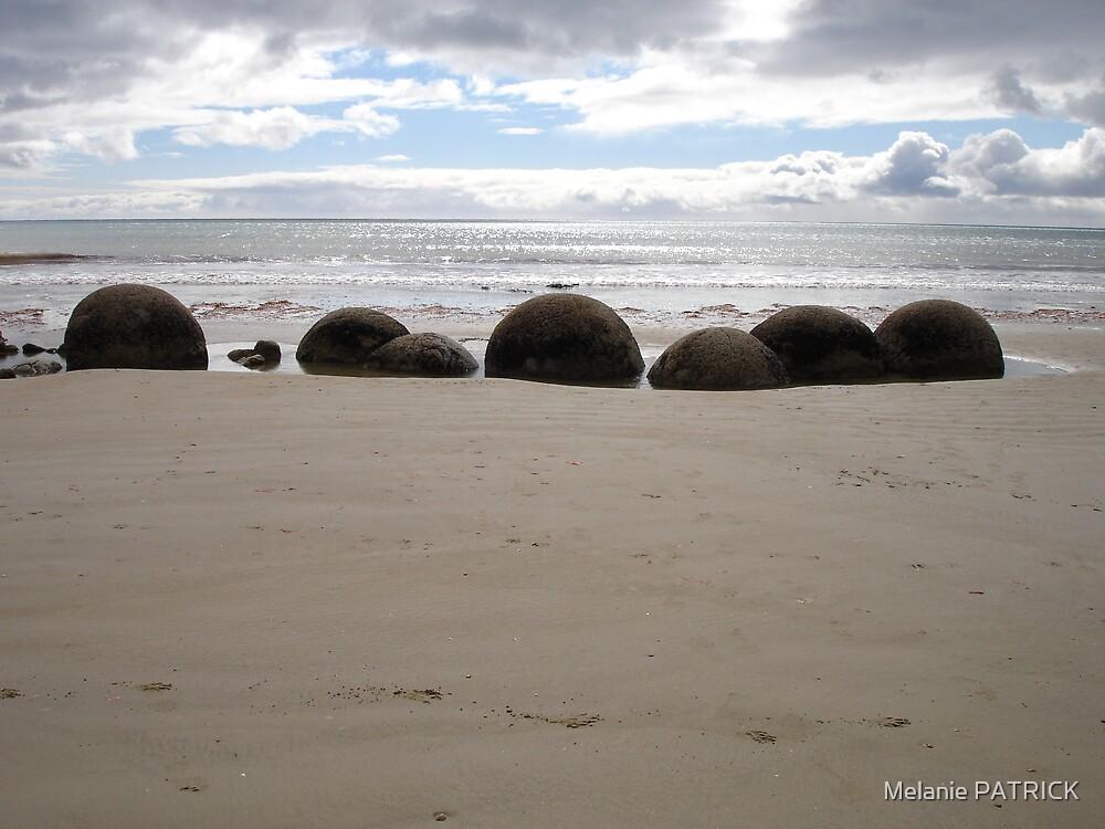 Moreaki Boulders by Melanie PATRICK