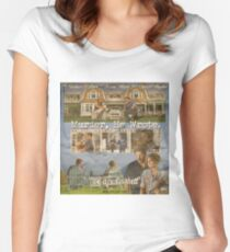 Castle - Murder, he wrote Women's Fitted Scoop T-Shirt