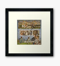 Castle - Murder, he wrote Framed Print
