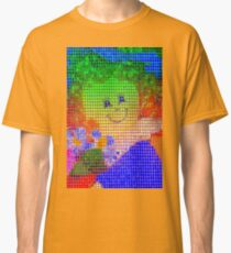 Doll in a blue hat  Classic T-Shirt