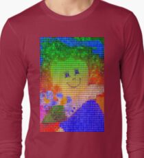 Doll in a blue hat  Long Sleeve T-Shirt