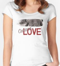 Carioca Love Tattoos Women's Fitted Scoop T-Shirt