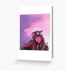 Jennie Greeting Card