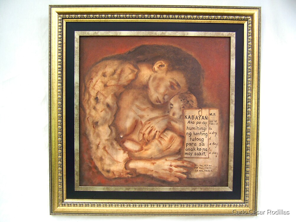 My Latest Madonna Painting by Carlo Cesar Rodillas