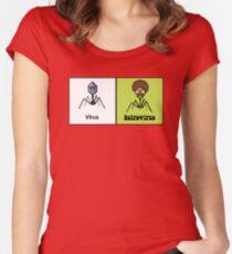 Retrovirus Women's Fitted Scoop T-Shirt