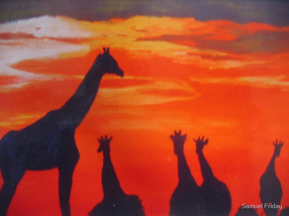 African sky II by Samuel Friday