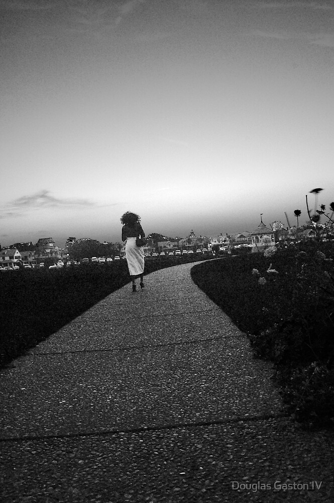Lady Walking by Douglas Gaston IV