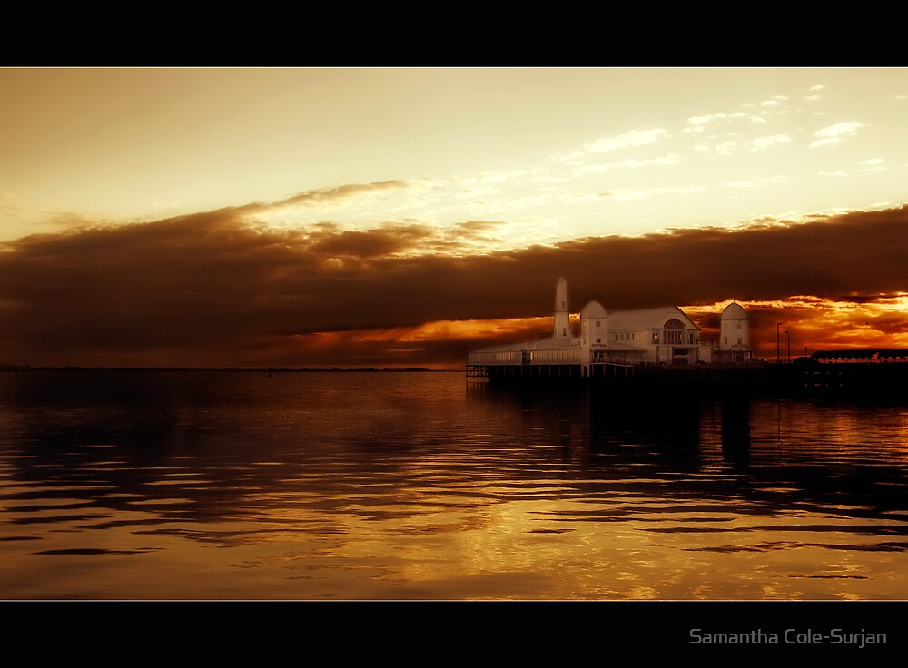 Geelong's Lightshow by Samantha Cole-Surjan
