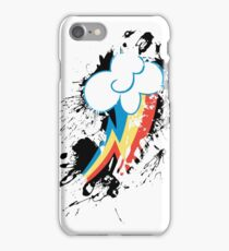 Rainbow Dash Cutie Mark Splat iPhone Case/Skin