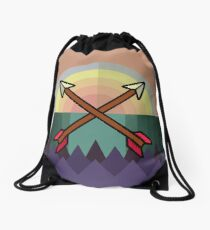 Wild Arrows Drawstring Bag