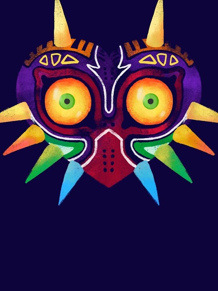 Máscara de Majora de khatii
