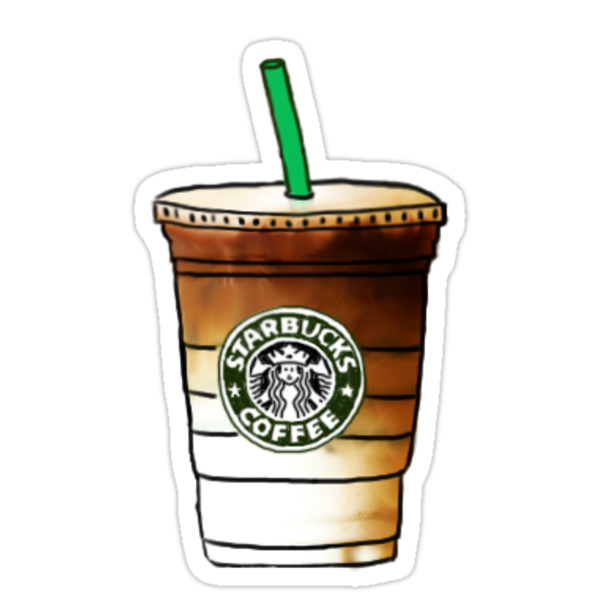 quotstarbucks quot stickers by emilyweis1001 redbubble