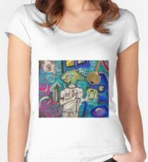 Emotion Ocean 2 Women's Fitted Scoop T-Shirt