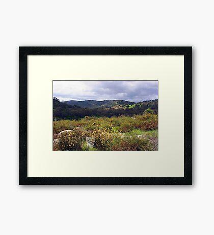 Avon Valley - Western Australia  Framed Print