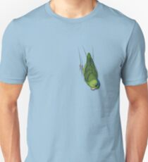 Male Green Pacific Parrotlet Unisex T-Shirt