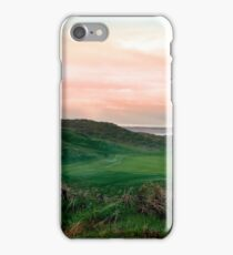 lush green Ballybunion links golf course iPhone Case/Skin