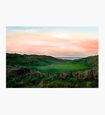 lush green Ballybunion links golf course Photographic Print