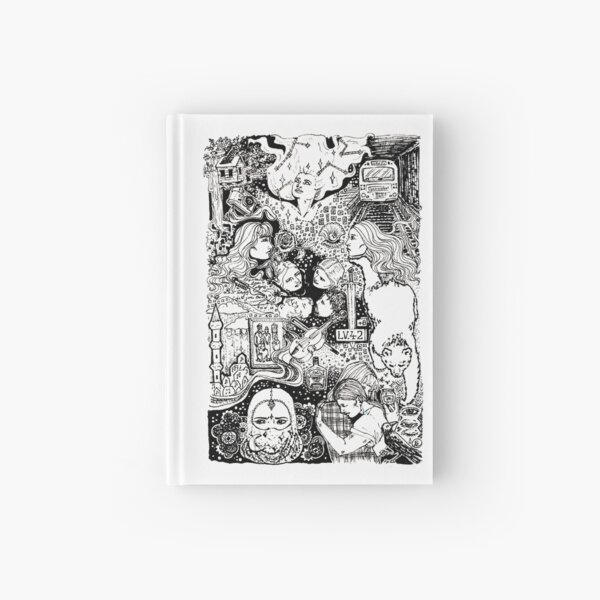 Ghost Quartet Hardcover Journal