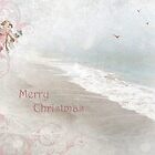 """Angels in Pink """"Merry Christmas"""" ~ Greeting Card by Susan Werby"""