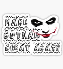 make gotham great again Sticker