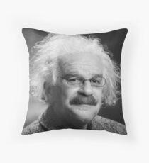 Energy = moustache (coffee * cigarettes) Throw Pillow