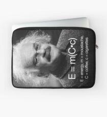 Energy = moustache (coffee * cigarettes) Laptop Sleeve