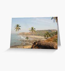 Goan Paradise Greeting Card