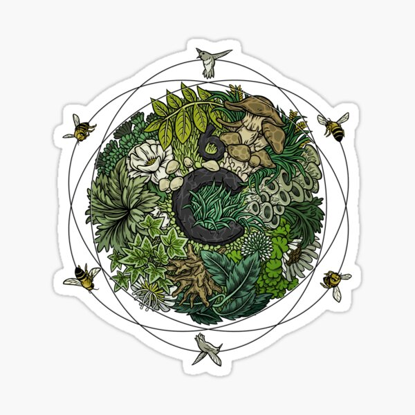 Element of Life Sticker